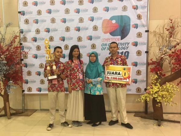 Competation on Creativity of Sociology FISIP UWK Surabaya SMAGA  Juaranya